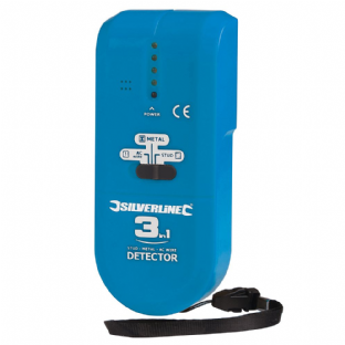 Silverline 477936 3-in-1 Detector Compact